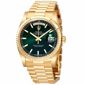 Rolex 118238GNSP Day-Date Unisex Automatic Watch