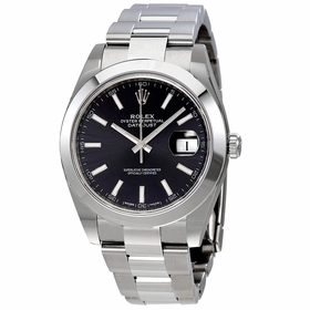 Rolex 126300BKSO Datejust 41 Mens Automatic Watch
