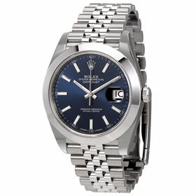 Rolex 126300BLSJ Datejust 41 Mens Automatic Watch