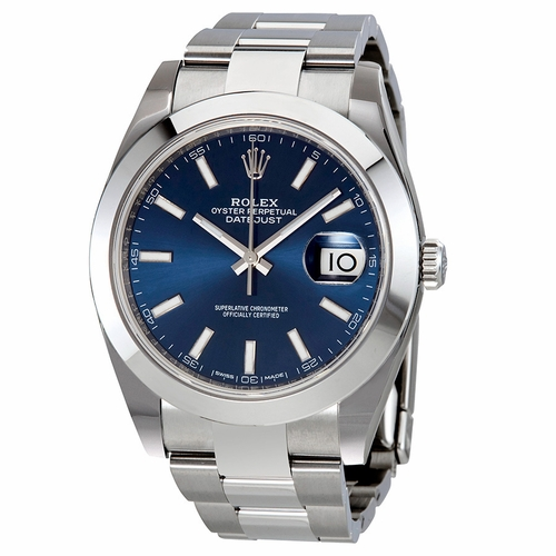 Rolex 126300BLSO Datejust 41 Mens Automatic Watch