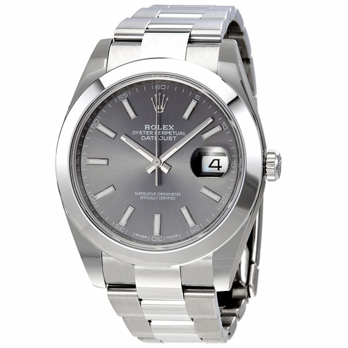 Rolex 126300RSO Oyster Perpetual Datejust Mens Automatic Watch