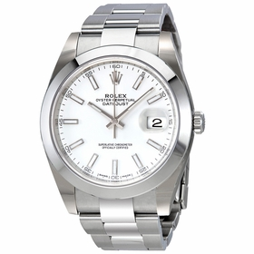 Rolex 126300WSO Oyster Perpetual Datejust Mens Automatic Watch