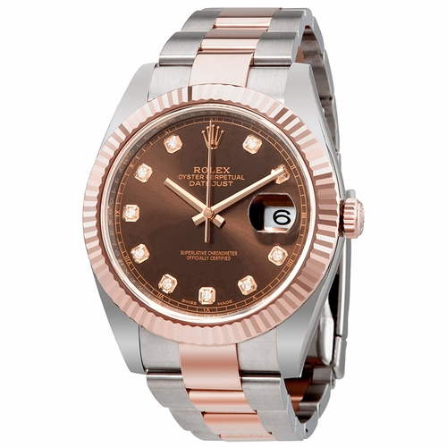 Rolex 126331CHDO Datejust 41 Mens Automatic Watch