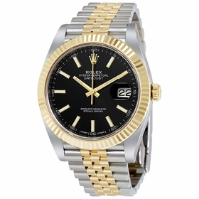 Rolex 126333BKSJ Datejust 41 Mens Automatic Watch