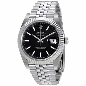 Rolex 126334BKSJ Oyster Perpetual Datejust Mens Automatic Watch