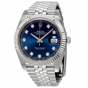 Rolex 126334BLDJ Datejust Mens Automatic Watch