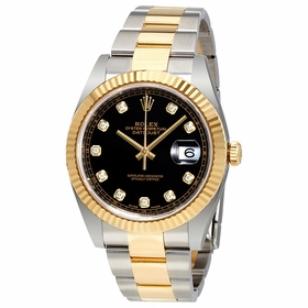 Rolex 12633BKDO Datejust 41 Mens Automatic Watch