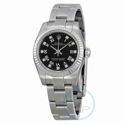 Rolex 176234BKRDO Lady Oyster Perpetual 26 Ladies Automatic Watch