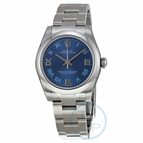Rolex 177200BLRO Oyster Perpetual 31 Ladies Automatic Watch