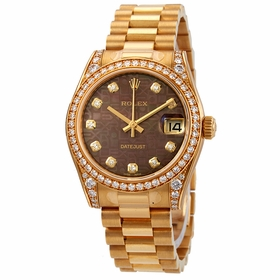 Rolex 178158BKMJDP Datejust 31 Ladies Automatic Watch