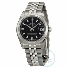 Rolex 178240BKSJ Datejust Lady 31 Ladies Automatic Watch