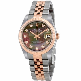 Rolex 178271BKMDJ Datejust Lady 31 Ladies Automatic Watch