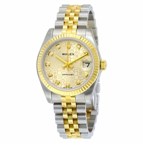 Rolex 178273SJDJ Datejust Lady 31 Ladies Automatic Watch