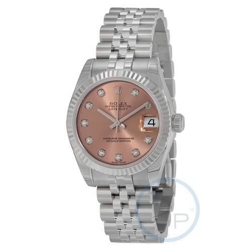 Rolex 178274PDJ Datejust Lady 31 Ladies Automatic Watch