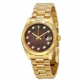 Rolex 178278BKMDP Datejust Ladies Automatic Watch