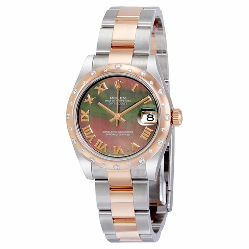 Rolex 178341BKMRO Oyster Perpetual Datejust 31 Ladies Automatic Watch