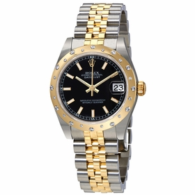 Rolex 178343BKSJ Datejust Lady 31 Ladies Automatic Watch