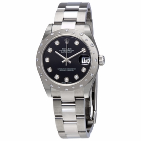 Rolex 178344BKDO Oyster Perpetual Datejust 31 Ladies Automatic Watch