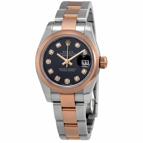 Rolex 179161BKDO Datejust Ladies Automatic Watch