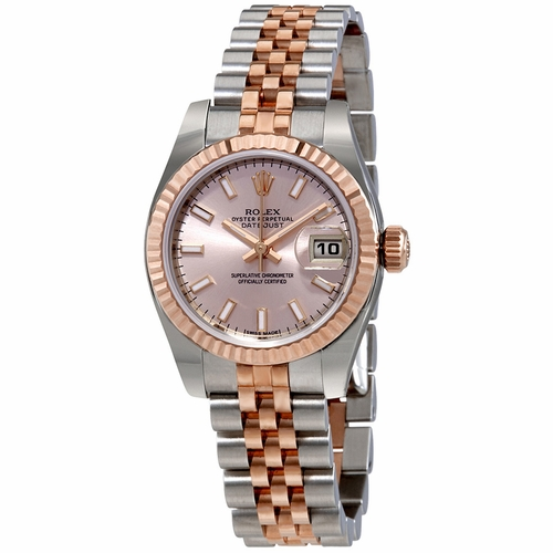 Rolex 179171PSJ Lady Datejust 26 Ladies Automatic Watch