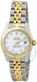 Rolex 179173WDJ Lady Datejust 26 Ladies Automatic Watch