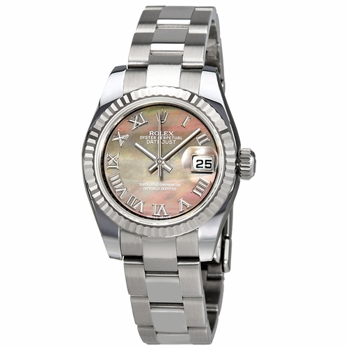 Rolex 179174BMRO Lady Datejust 26 Ladies Automatic Watch