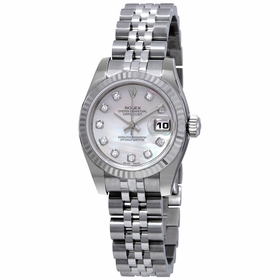 Rolex 179174PMDJ Datejust 26 Ladies Automatic Watch