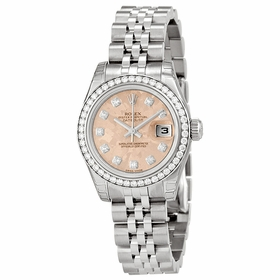 Rolex 179384PGCDJ Lady Datejust 26 Ladies Automatic Watch
