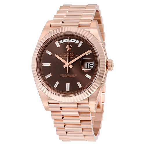 Rolex 228235CHDP Day-Date 40 Mens Automatic Watch