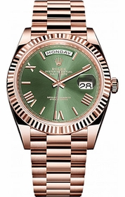 Rolex 228235GNSRP Day-Date 40 Mens Automatic Watch