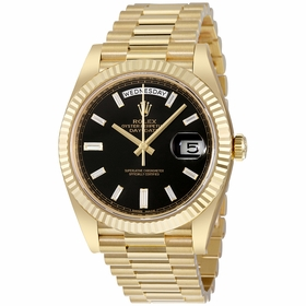 Rolex 228238BKDP Day-Date 40 Mens Automatic Watch