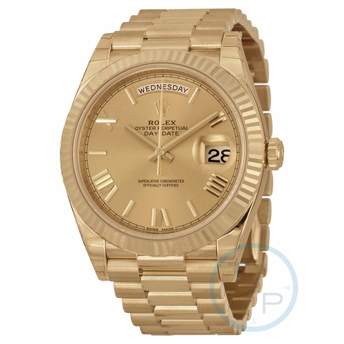 Rolex 228238CRSP Day-Date 40 Mens Automatic Watch