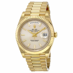 Rolex 228238SSP Day-Date 40 Mens Automatic Watch