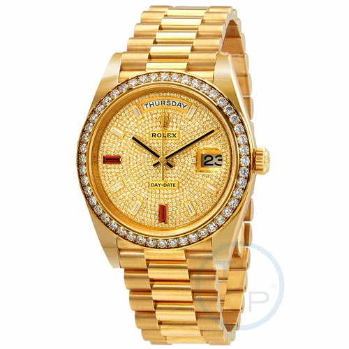 Rolex 228348rbr-0030 Day-Date 40 Mens Automatic Watch