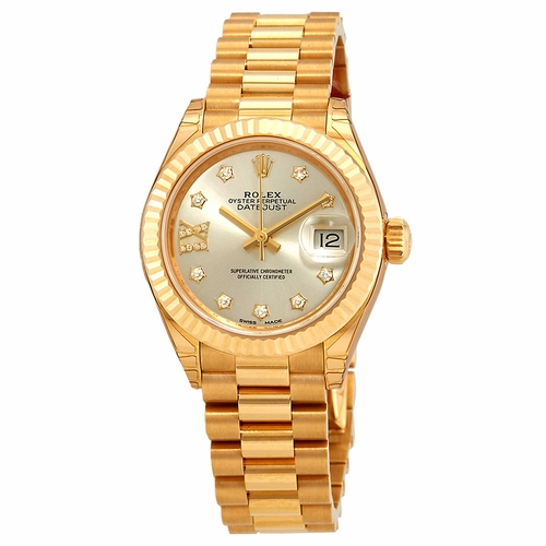 Rolex 279178SRDP Lady Datejust 28 Ladies Automatic Watch