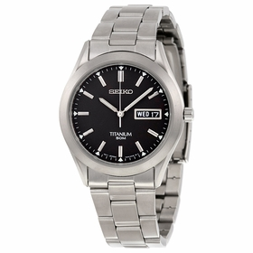Seiko SGG707 Titanium Mens Quartz Watch