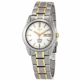 Seiko SGG733P1 Titanium Mens Quartz Watch
