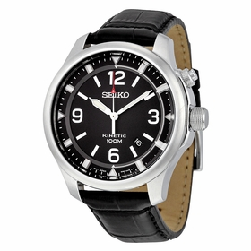 Seiko SKA689 Kinetic Mens Auto-Quartz Watch