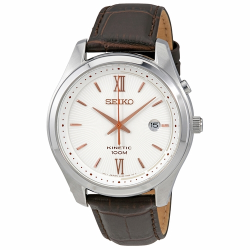 Seiko SKA773P1 Kinetic Mens Kinetic Watch