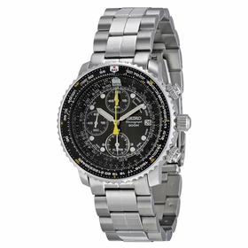 Seiko SNA411 Flight Chronograph Mens Chronograph Quartz Watch
