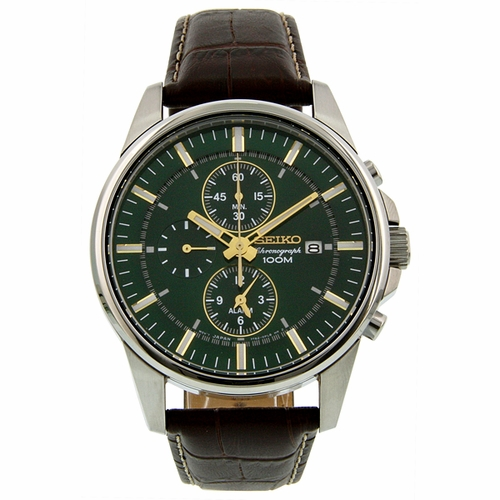 Seiko SNAF09 Chronograph Mens Chronograph Quartz Watch