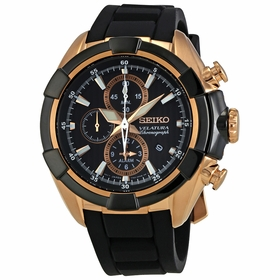 Seiko SNAF60P1 Velatura Mens Chronograph Quartz Watch
