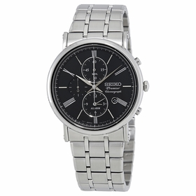 Seiko SNAF75P1 Premier Mens Chronograph Quartz Watch