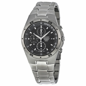 Seiko SND419 Titanium Mens Chronograph Quartz Watch