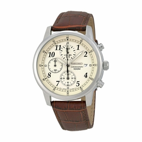 Seiko SNDC31 Chronograph Mens Chronograph Quartz Watch