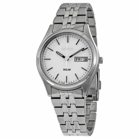 Seiko SNE031 Solar Mens Eco-Drive Watch