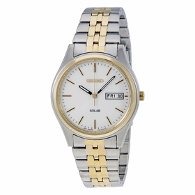 Seiko SNE032 Solar Mens Eco-Drive Watch