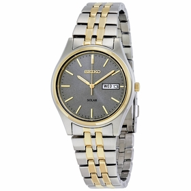 Seiko SNE042 Solar Mens Eco-Drive Watch