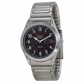 Seiko SNE179 Solar Mens Eco-Drive Watch