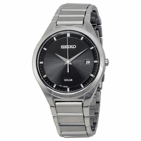 Seiko SNE241 Solar Mens Eco-Drive Watch
